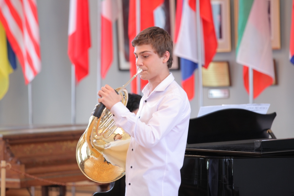 Artur Tadevosov French horn Concert day